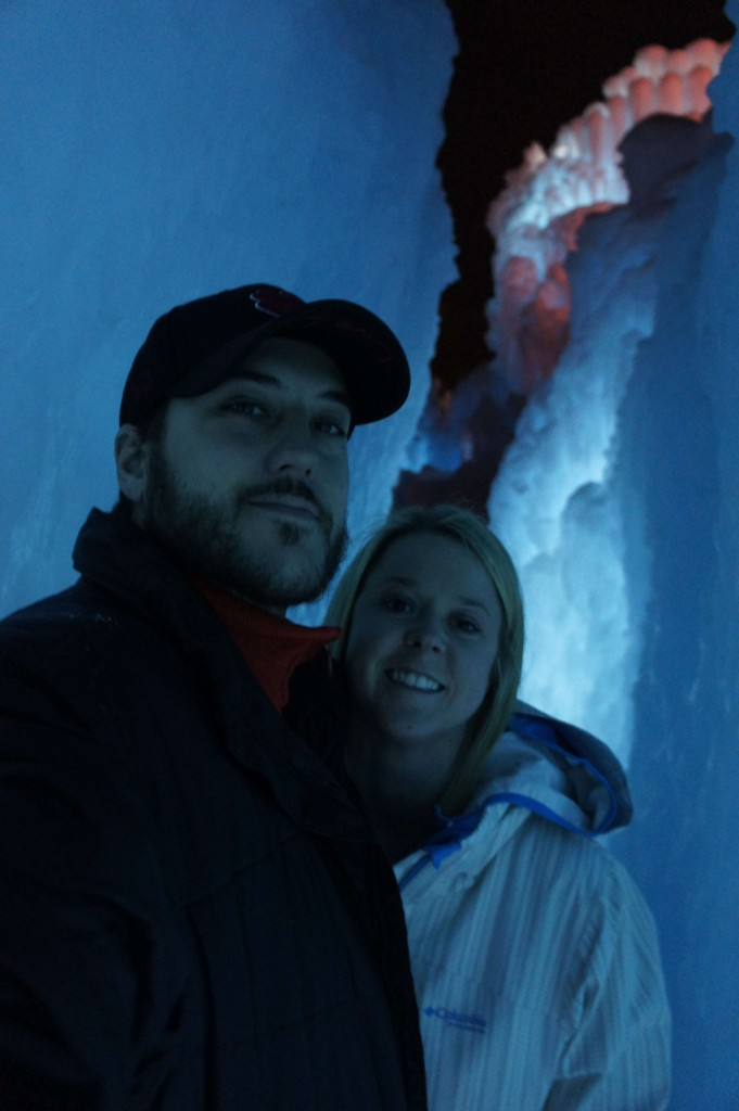 nathan and sydnee coccimiglio ice castle