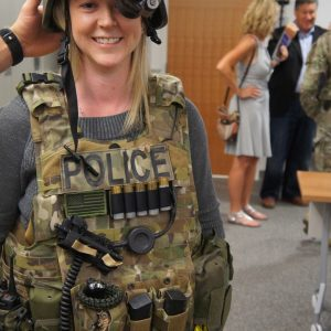 sydnee coccimiglio swat outfit