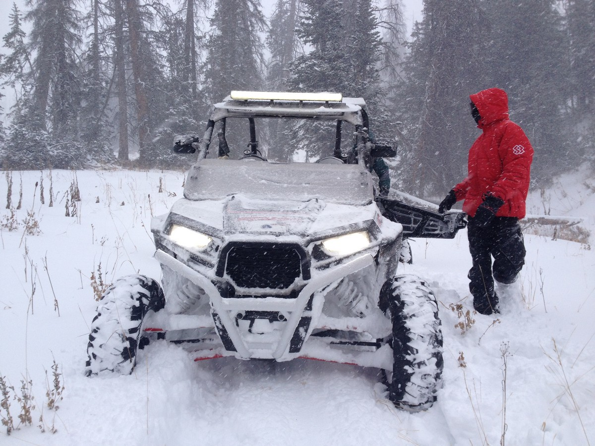Winter RZR Adventure